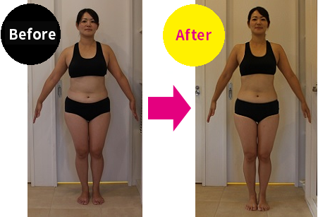 Weight loss personal training Before-After/ ShapesGirl